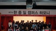 경희대 국제교육원, '제7회 한ㆍ중ㆍ일 캠퍼스하모니' 개최