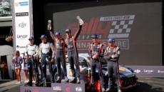 현대자동차, 2017 WRC 호주 랠리서 우승…시즌 네 번째 우승컵