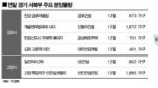 서울엔 '寒氣'인데…경기 서북부 연말 분양시장엔 '溫氣'