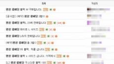 '품귀' 평창 롱패딩, 중고가 30만원에 거래…두배나 비싸 '기현상'
