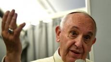 """프란치스코 교황, """"모든 핵무기 폐기해야"""" 일침"""