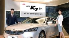 기아차 '2018년형 K7' 출시…첨단 주행 기술(HDA)로 업그레이드