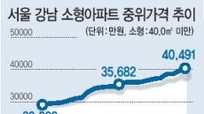 강남 소형아파트 4억원 시대