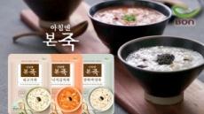 본죽, 가정간편식 '아침엔본죽' 홈쇼핑 론칭
