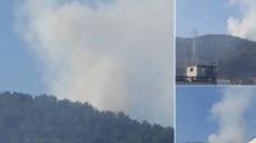 """부산 기장 산불...주민들 """"누군가 방화"""" 분노"""