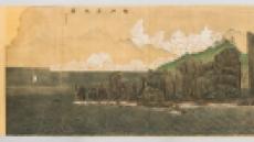 베일 벗는 창덕궁 희정당의 9m 금강산 벽화