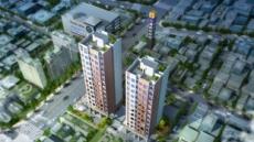 소형 평수 수요 고공행진, 단지형 소형아파트 '강동 디앤써밋' 인기