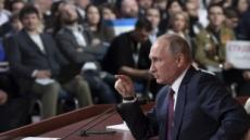 """푸틴, 무소속 대선 출마 선언…""""야당 국가전복 시도 안돼"""""""