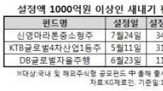 '새내기 펀드' 격돌에서 빛난 중형운용사…비결은 '역량 집중'