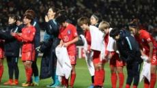 여자축구, 동아시안컵에서 3전 전패 기록