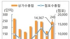 """올해 상가 공급 역대 최다… """"내년 위축 전망"""""""