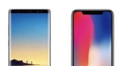 '갤럭시노트8·아이폰X' 구매 시, '갤럭시탭·뉴아이패드' 사은품 지급