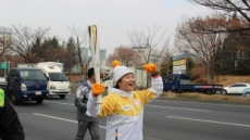 루키 시즌 일본 호령한 이민영, 평창 성화 봉송