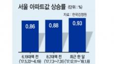 약효없는 정책…서울집값 꺾을 자 누구?