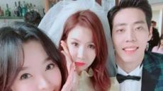 """'달샤벳' 세리 """"정아언니 웨딩들러리 인증샷 올려요"""""""