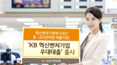 KB국민은행, 혁신ㆍ벤처기업에 5년간 1조5000억 대출지원