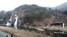 서대문구 홍제천 인공폭포, 자연미 넘치는 빙벽으로 변신
