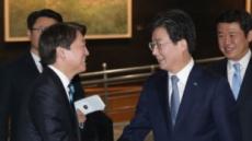 국민ㆍ바른 통합선언에 힘 합친 민주당ㆍ한국당