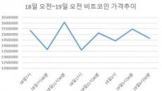 하루새 '1600만→1360만→1550만'…비트코인 변동성 여전