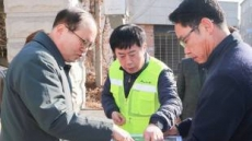 정찬민 시장, 용인고 안전사각지대 구원투수 나섰다