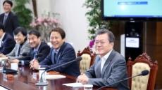 """문재인 """"남북대화, 미국과 북한 대화로도 이어져야"""""""