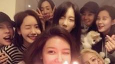 다시 만난 소녀시대 8인..제시카만 빠져