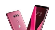 매혹적 장밋빛 여심…LG V30 '라즈베리 로즈' 인기몰이