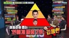 """이동준 """"내가 연예계 싸움 1위, 마동석은 3위"""""""