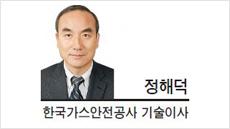 [헤럴드포럼-정해덕 한국가스안전공사 기술이사]가스사고, 막을 수 있습니다!