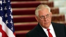 """틸러슨 """"북한이 대화 준비됐다고 말하길 귀기울이고 있다"""""""