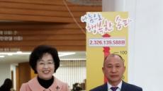 [헤럴드포토] 송파구, 겨울나기 성금 전달