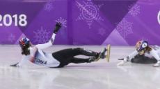 [2018 평창] 심석희·최민정 '꽈당'…女 1000m '아쉬운 노메달'