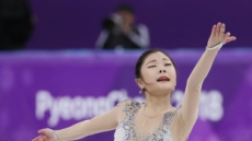 [2018 평창] '김하늘, 안정적인 점프와 연기…프리 121.38점