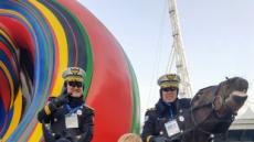 서울경찰기마대, 평창올림픽 폐막식서 72번째 생일