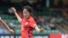 여자축구대표팀 스웨덴전 1-1 무승부…이민아 '동점골'