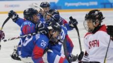 [평창 패럴림픽] 한국 아이스하키, 한일전서 4-1 압승