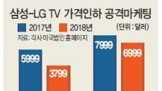 삼성-LG '프리미엄 대형TV' 가격전쟁 불붙다