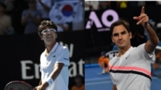 정현 vs 페더러, 리턴매치 성사…16일 ATP 파리바오픈 8강 격돌