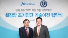 JW홀딩스, 세계 최초 췌장암 조기 진단키트 개발 나선다