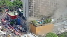 필리핀 마닐라 호텔서 화재…4명 사망, 피해규모 파악 중