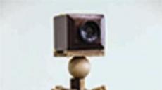 [지상갤러리]  김신영, Look into it, 나무 슬라이드뷰어 필름 위에 드로잉, 127×50×50cm, 2017