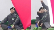 지드래곤 군생활 공개…발목 보호대 착용, 부상?