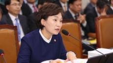 """김현미 장관 """"집값 하락지역, 제도 개선 검토하겠다"""""""