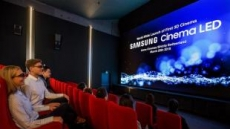 삼성전자, 세계최초 '3D 시네마 LED' 상영관 개관