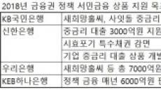 은행권 서민 정책금융 '봇물'...文정부에 호응