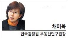 [헤럴드포럼-채미옥 한국감정원 부동산연구원장]주택 시장의 회귀와 데자뷰