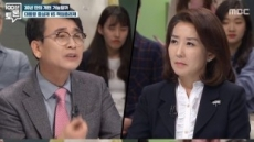 '100분 토론' 나경원, 유시민 질문에 쩔쩔