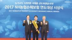 김용환 농협금융 회장, 연도대상 시상자 격려
