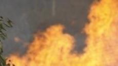 양양 산불, 소방인력 104명·소방차 12대 투입