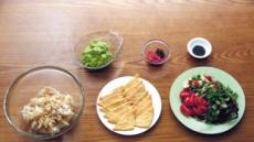 [크리스틴 조의 비건 레시피]노화방지·피로회복 효과일본인의 김치 우메보시유부초밥과 멋진 궁합
